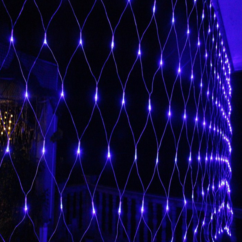 6x4M LED Light Net Christmas Net Fairy Light String Curtain Window Lights Mesh eBay