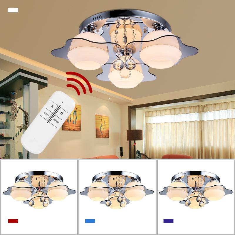 15w led e27 deckenleuchte kristall deckenlampe wohnzimmer for Deckenleuchte wohnzimmer e27