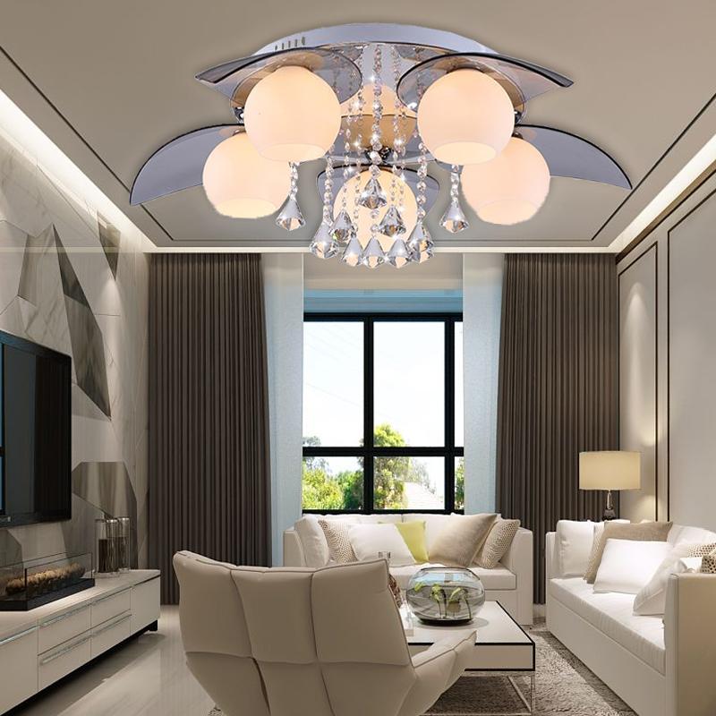 led kristall deckenleuchte wohnzimmer flur deckenlampe wandlampe l ster 5flammig ebay. Black Bedroom Furniture Sets. Home Design Ideas