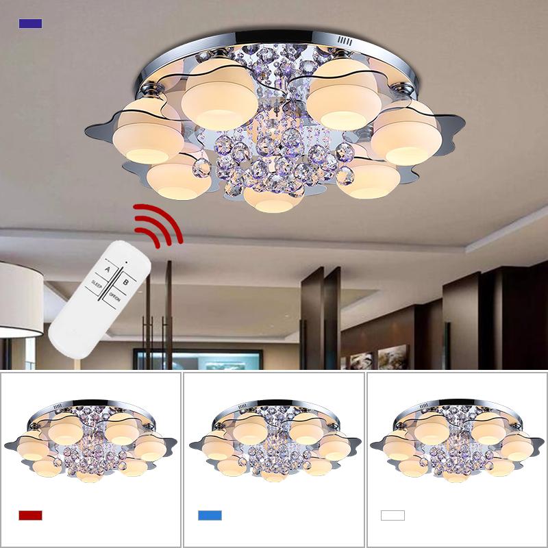 Led kristall deckenleuchte l ster wohnzimmer wandlampe for Deckenlampe e27
