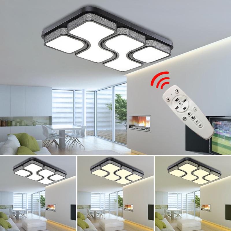 Dimmbar led deckenleuchte 36w wohnzimmer flur deckenlampe for Deckenleuchte wohnzimmer dimmbar