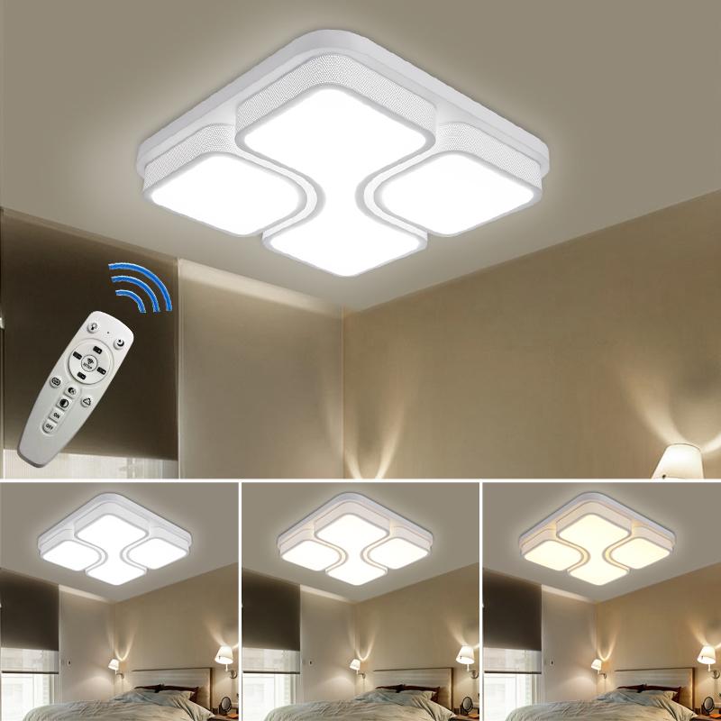 36w led deckenleuchte deckenlampe wandlampe wohnzimmer flur beleuchtung dimmbar. Black Bedroom Furniture Sets. Home Design Ideas
