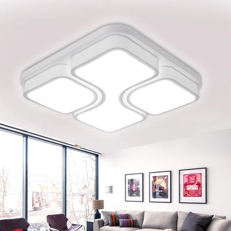 Modern LED Deckenlampe Deckenleuchte 36W Lampe Beleuchtung Wohnzimmer Weiß   -> Led Deckenleuchte Modern