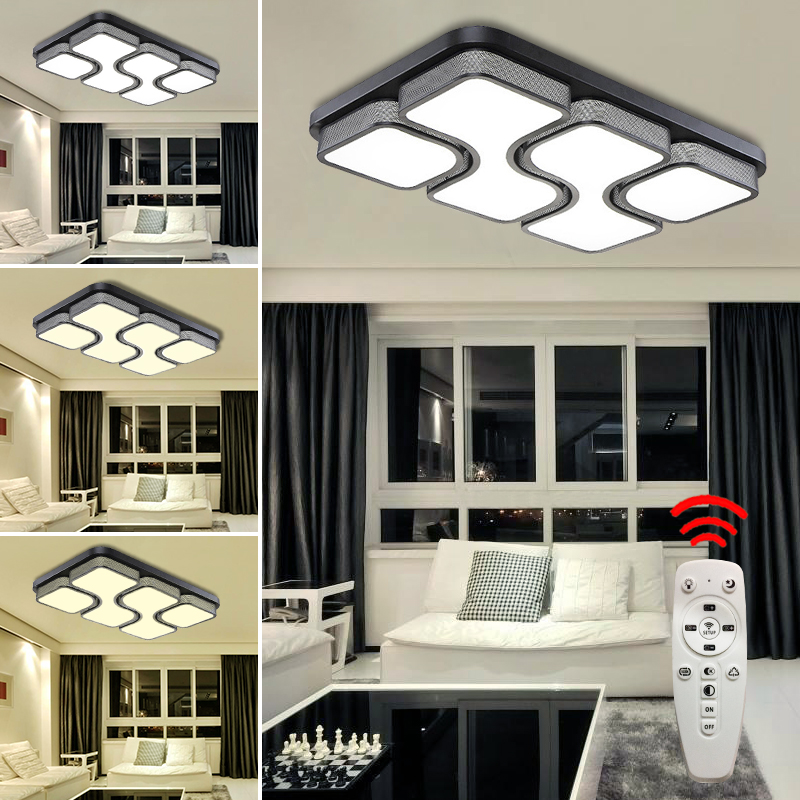 36w led deckenleuchte wandlampe deckenlampe wohnzimmer. Black Bedroom Furniture Sets. Home Design Ideas