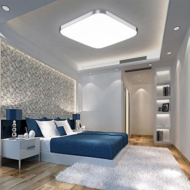 36w led deckenlampe wohnzimmer deckenleuchte badleuchte wandlampe k che flur ebay. Black Bedroom Furniture Sets. Home Design Ideas