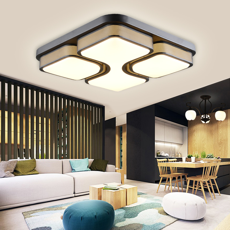 48w led deckenlampe deckenleuchte dimmbar lampe korridor schlafzimmer lampe b ro ebay. Black Bedroom Furniture Sets. Home Design Ideas