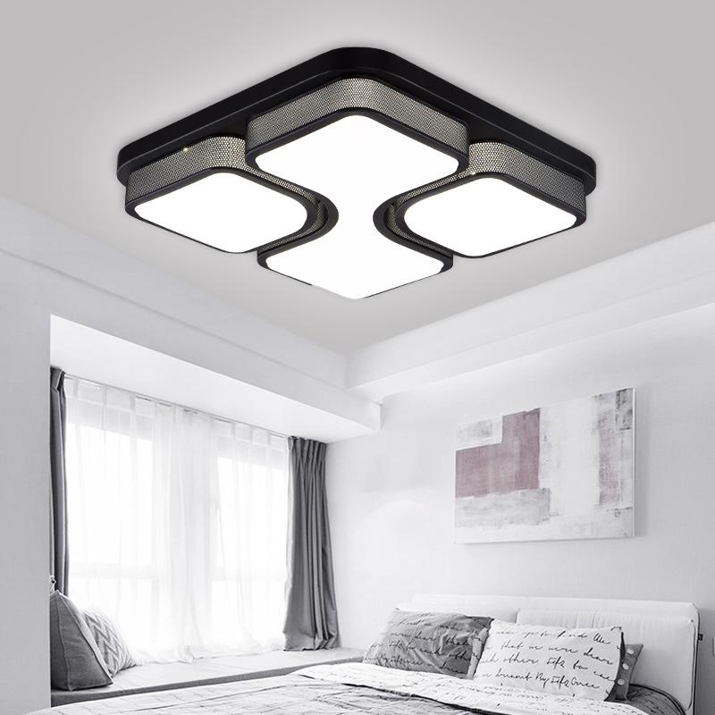 48w led deckenlampe wohnzimmer deckenleuchte badlampe esszimmer lampe b ro l den ebay. Black Bedroom Furniture Sets. Home Design Ideas