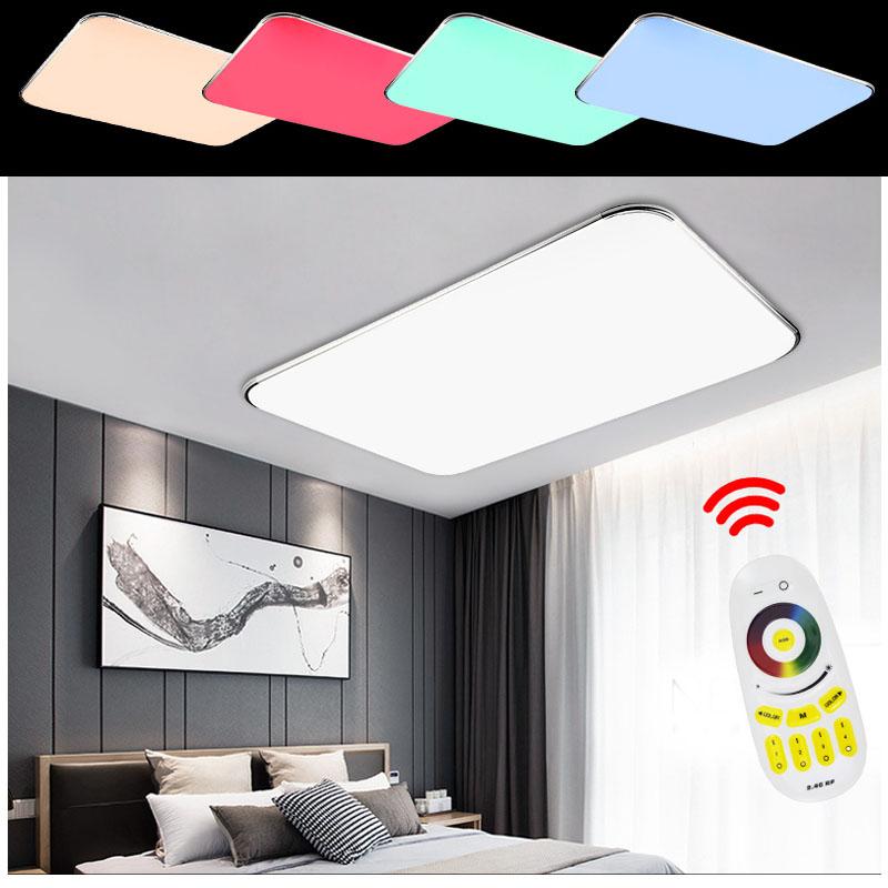 90w led farbwechsel deckenleuchte wohnzimmer deckenlampe badlampe wandlampe rgb. Black Bedroom Furniture Sets. Home Design Ideas