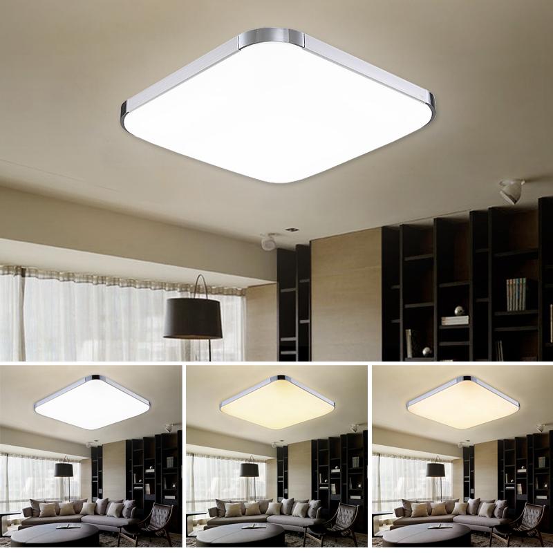 36w led deckenleuchte wohnzimmer lampe deckenlampe k cheleuchte farbwechsel 3in1 ebay. Black Bedroom Furniture Sets. Home Design Ideas