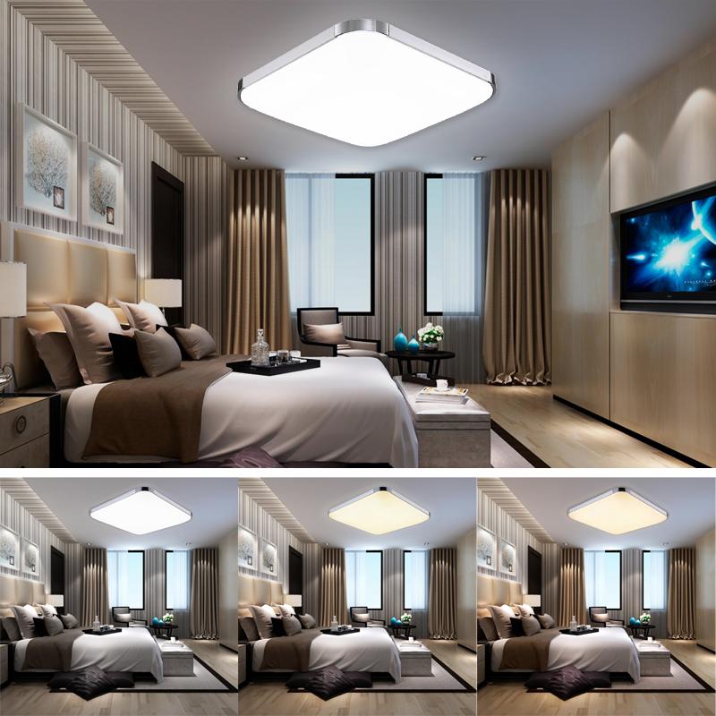 3in1 led deckenleuchte deckenlampe badleuchte wohnzimmer wandlampe b ro 12w ebay. Black Bedroom Furniture Sets. Home Design Ideas