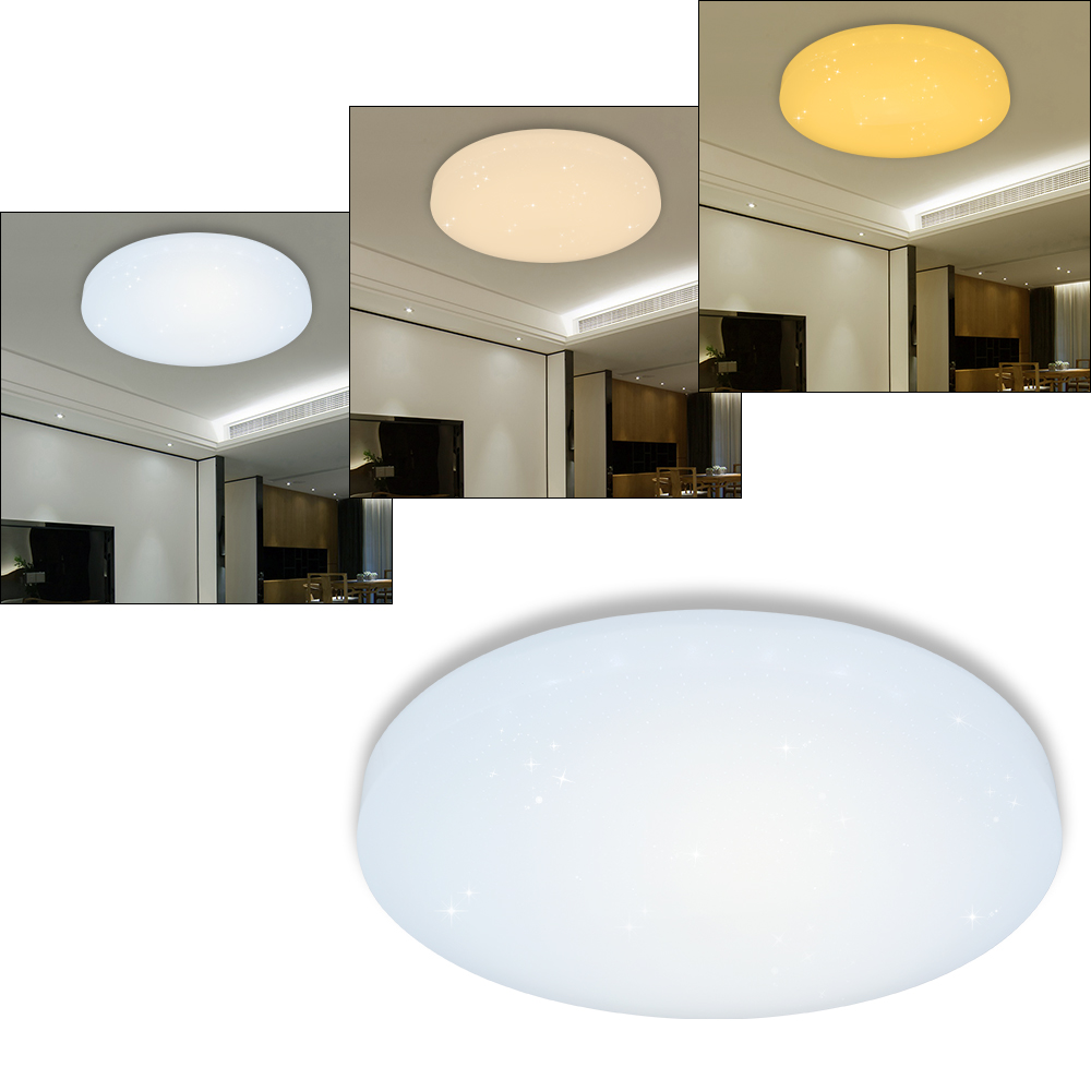 50w led deckenlampe 3in1 starlight leuchte wandlampe. Black Bedroom Furniture Sets. Home Design Ideas