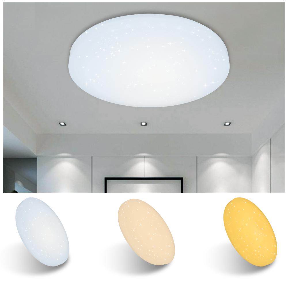 12 60w led deckenleuchte badleuchte wohnzimmer leuchte starlight lampe k che. Black Bedroom Furniture Sets. Home Design Ideas