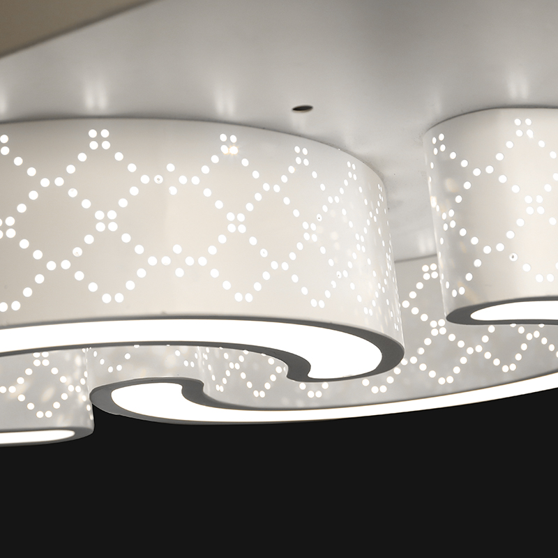 abstrakt moderne led deckenleuchte ledicus flat 2000129 küche ...