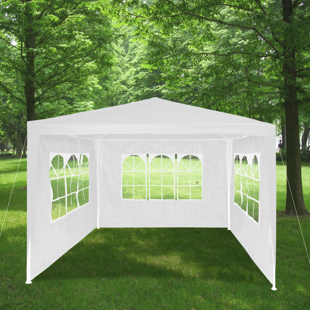 pavillon partyzelt bierzelt strandzelt pavillion garten zelt 3x3m fest zelt ebay. Black Bedroom Furniture Sets. Home Design Ideas