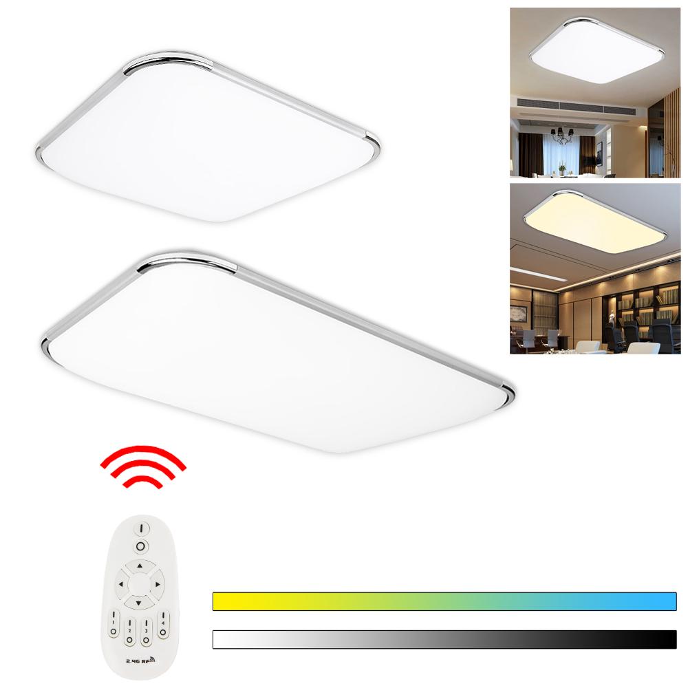 led deckenleuchte deckenlampe wohnzimmer badleuchte dimmbar k che wandlampe ebay. Black Bedroom Furniture Sets. Home Design Ideas