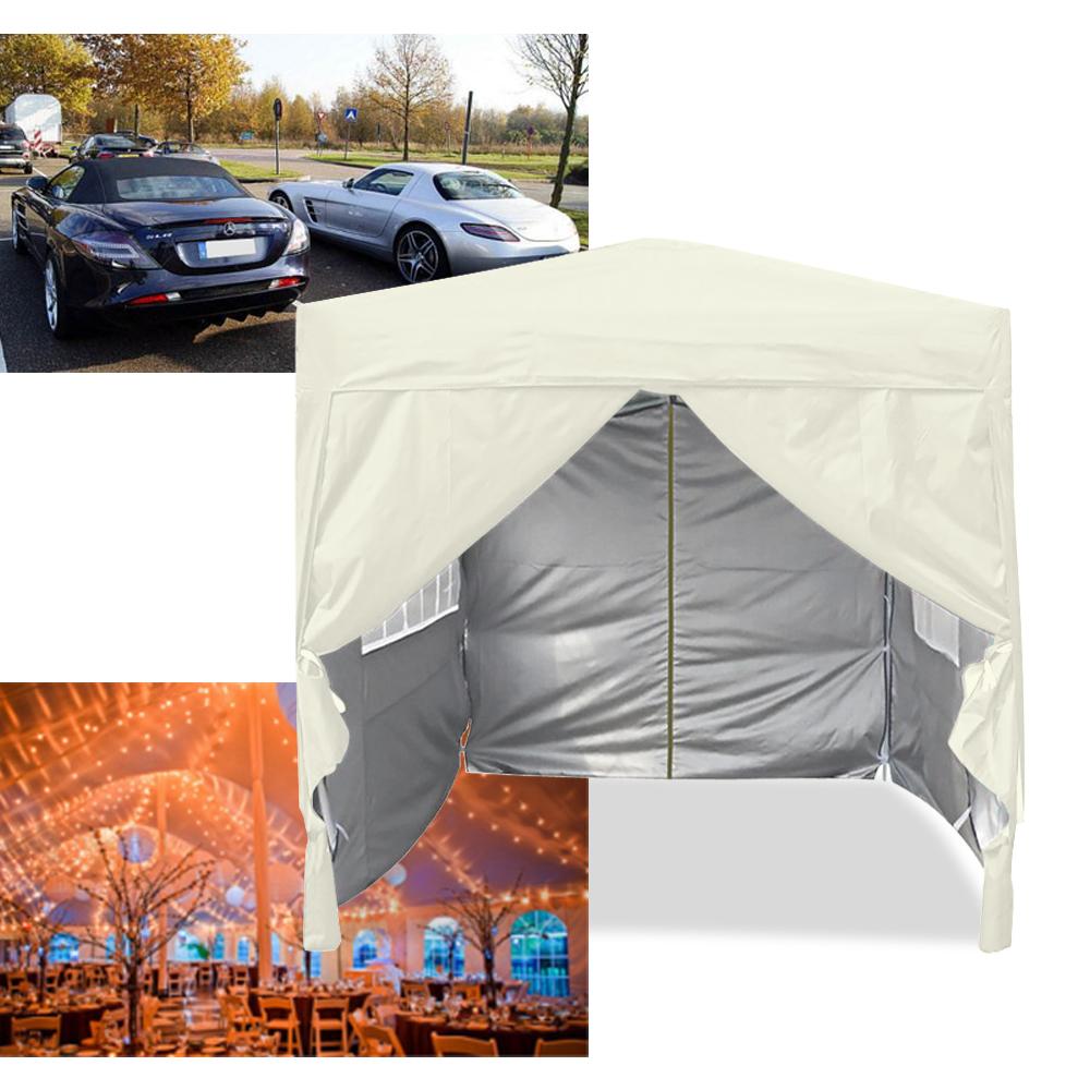 3x3m falt pavillon partyzelt festzelt klapp zelt. Black Bedroom Furniture Sets. Home Design Ideas