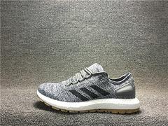 阿迪达斯  渠道供货  Adidas 高品质真爆 Pure Boost 白灰牛筋底 S80783 男鞋39-44