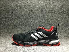 阿迪达斯 马拉松  黑白红BW0105 原装真标 男鞋40-45