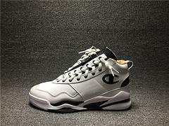 Champion X Casbia awol atlanta冠军联名全皮篮球鞋 白橘黑男鞋40-46
