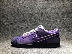 正确版Nike SB Dunk Low x Concepts 联名紫龙虾 低帮板鞋 BV1310-555男女鞋36-45