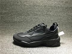 Puma彪马Thunder L全黑皮面复古老爹鞋370682 02男女鞋35.5-44