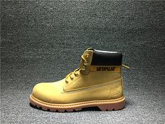 CAT高帮大黄靴卡特复古马丁靴PWC74010-940C4C冬季男女鞋36-44