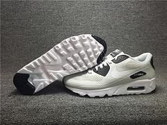 高品质1:1质量超A专供天猫品质 qq红包秒抢软件AIR MAX90 ULTRA ESSENTIAL大网眼透气跑鞋819474-002男女鞋36-44.5