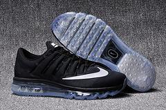 1:1高品质真标qq红包秒抢软件 AIR MAX2016网面全掌气垫跑步鞋806771-001男女鞋36-45