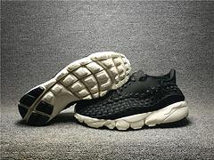 016新款高品质1:1 NIKELAB AIR FOOTSCAPE WVN NM 黑人小吕布874892-001低帮编织男鞋40-45