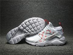 2017爆款高品质1:1质量 Nike Air Huarache网面透气跑步鞋819685-106男女鞋36-44.5