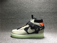 Nike Air Force 1 Utility AF1 MID 中帮解构机能板鞋AQ9758-300贰男鞋40-45