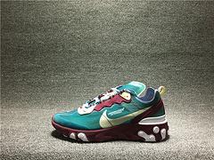 真标1:1qq红包秒抢软件高桥盾87 联名系列UNDERCOVER X NIKE REACT ELEMENT 男鞋AQ1813-341  40-45