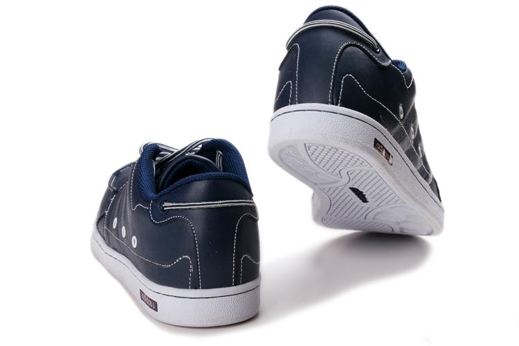 阿迪达斯adidas休闲鞋英伦风格 休闲男鞋 全球限量版 深兰