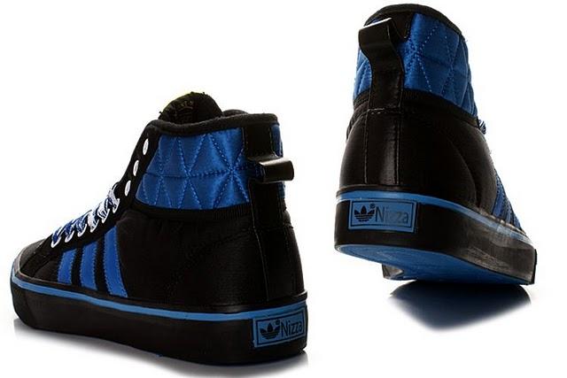 阿迪达斯adidad 923高帮潮流鞋 黑兰 男款40 44