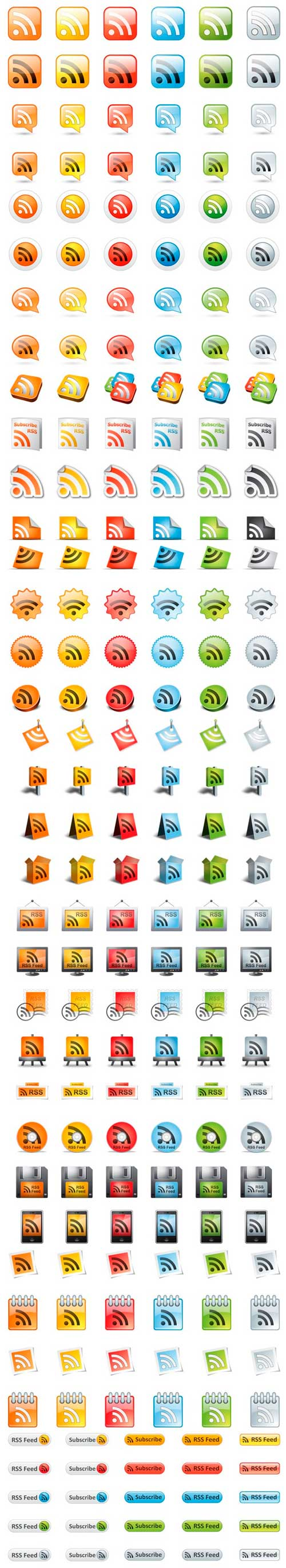 Supra rss icons