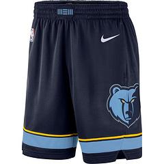 1920赛季灰熊深蓝球裤