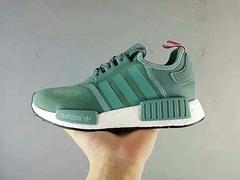 Adidas Originals NMD R1 绿粉 跑步鞋-53 36-40
