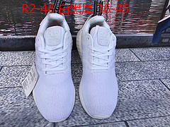 NMD R2 PK Boost 跑步鞋 R2-46白黑尾 官方正确版本 限量36-45出货