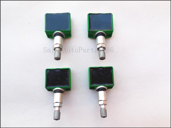 4pcs Tpms 40700 Ja01c Tire Pressure Monitoring System