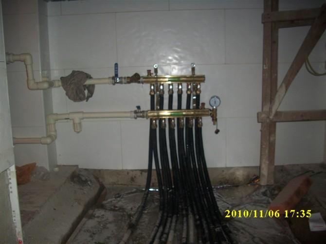 灵铭分集水器及主管道