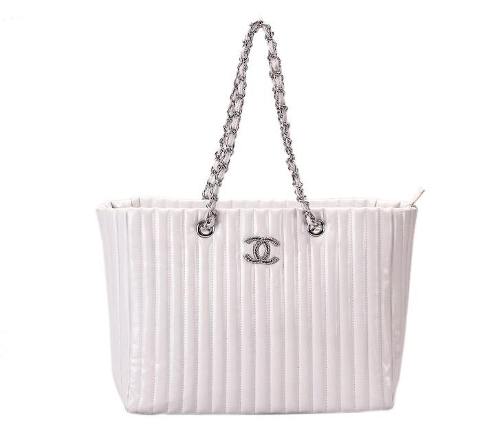 白色光皮女包包-箱包皮具