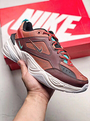 出货全新二代全皮面Nike Air M2K Tekno V2 qq红包秒抢软件复古老爹鞋男女鞋 AO3108-006 36-45