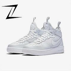 Nike Air Force 1 Ultraforce MID 空军 中筒 全白36-44