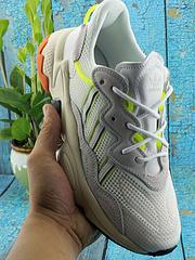 """Adidas originals Ozweego adiprene 三叶草 透气男女运动鞋 """"水管""""潮流鞋 老爹鞋 白黄 36--45"""