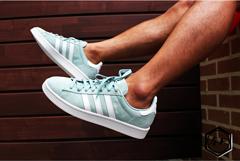 阿迪达斯板鞋 校园板鞋 阿迪板鞋猪八 C005单 玉/白 36-40