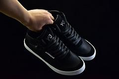 Adidas Y-3 KAZUHUNA 山本耀司呕心沥血之作 皮革拼接高帮鞋 顶级进口头层羊皮+猪巴革 原盒真标 脚感完美