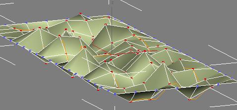 不规则变化的地铁站天花造型建模实例教程