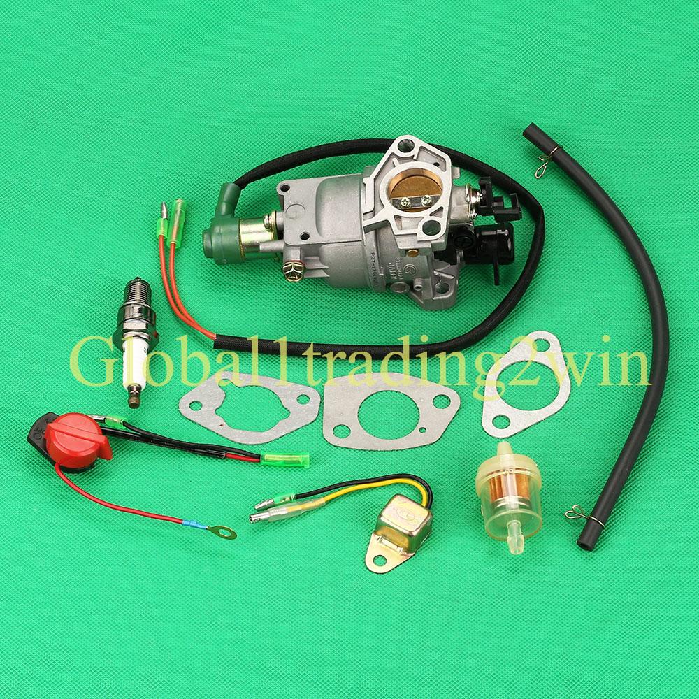 Carburetor Carb Fuel Filter Line Stop Switch For Honda