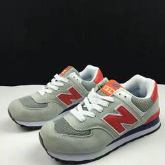 New balance ( 灰红) 36-44