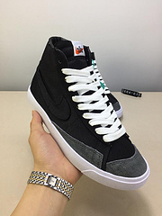 Nike Blazer Mid '77 Vintage  复古帆布高帮板鞋 改良款鞋型天猫热卖款! 货号:CD8238 ID:2664Y615